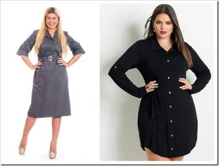 Платье-рубашка и классические хитрости