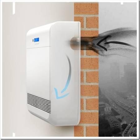 Как происходит очистка воздуха в бризере?