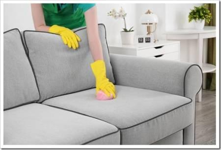 Очистка кожаной мебели воскосодержащими составами