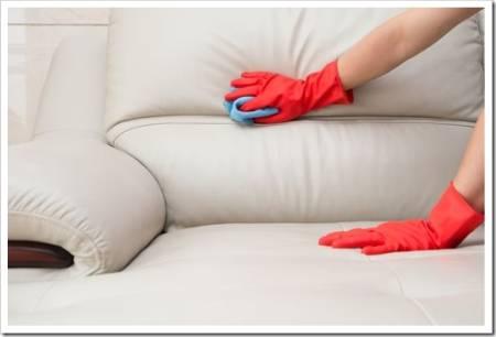 Требования и нормы по чистке мягкой мебели