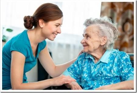 Уход за пожилым родственником